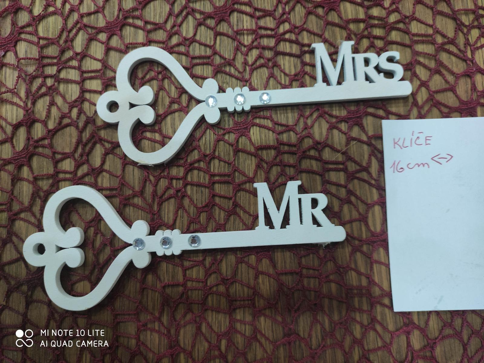 Mr a Mrs klíče - Obrázek č. 1