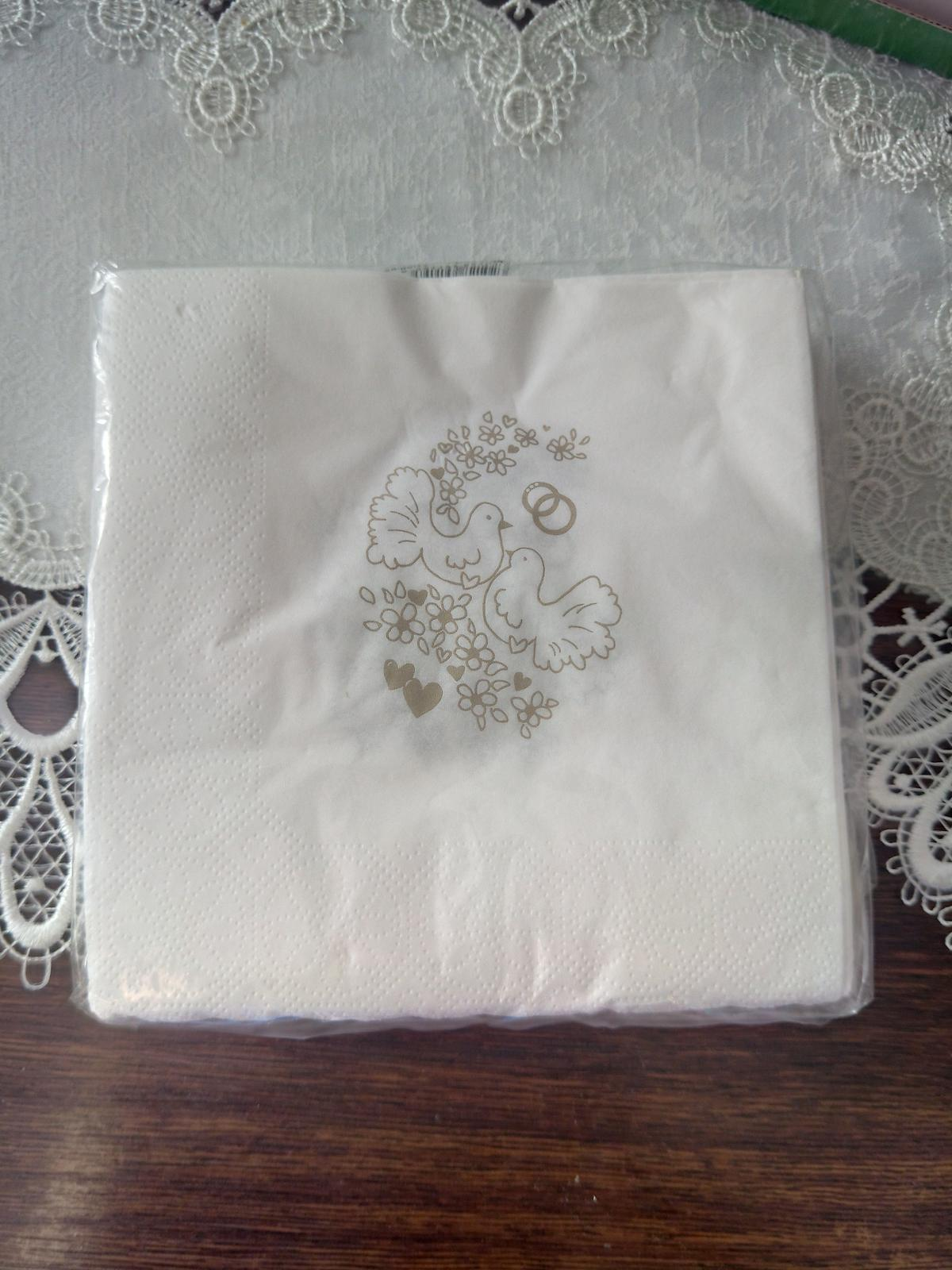 Papírové ubrousky - Obrázek č. 1