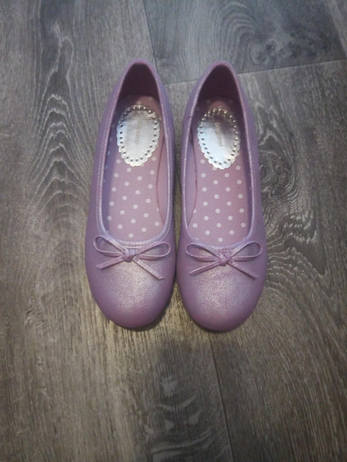 Růžovo-fialové balerínky - Obrázek č. 1