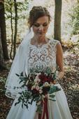 Krajkové svatební šaty Lanesta - 36 , 36