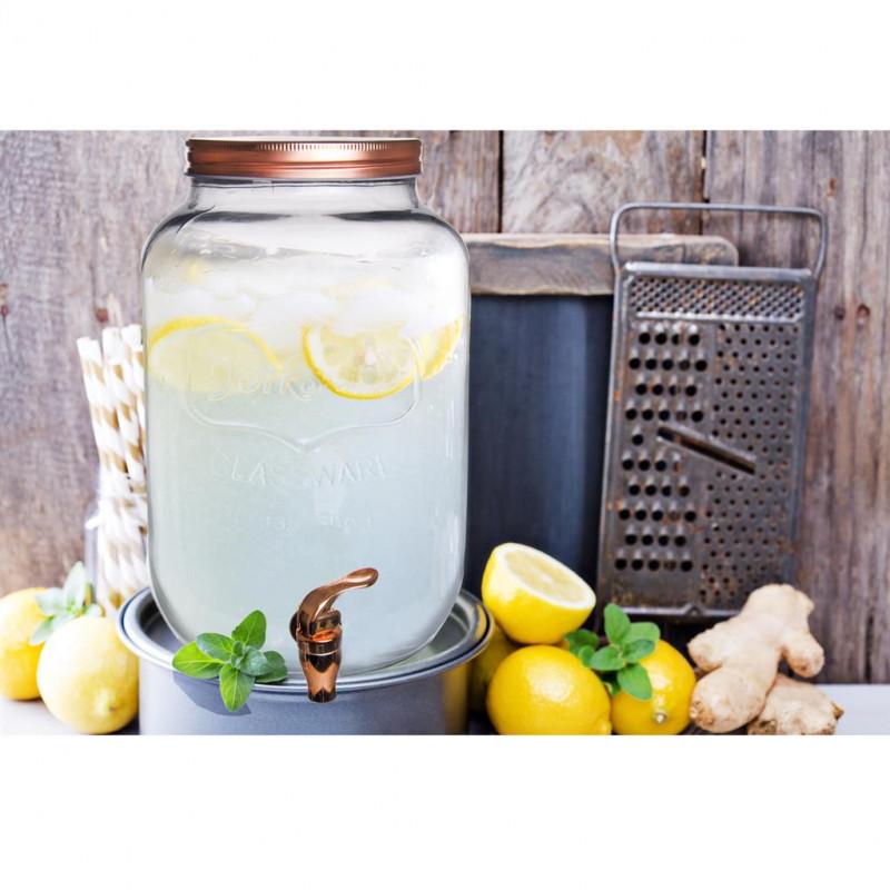 Láhev s kohoutkem 8.8 litrů - 4ks - Obrázek č. 1