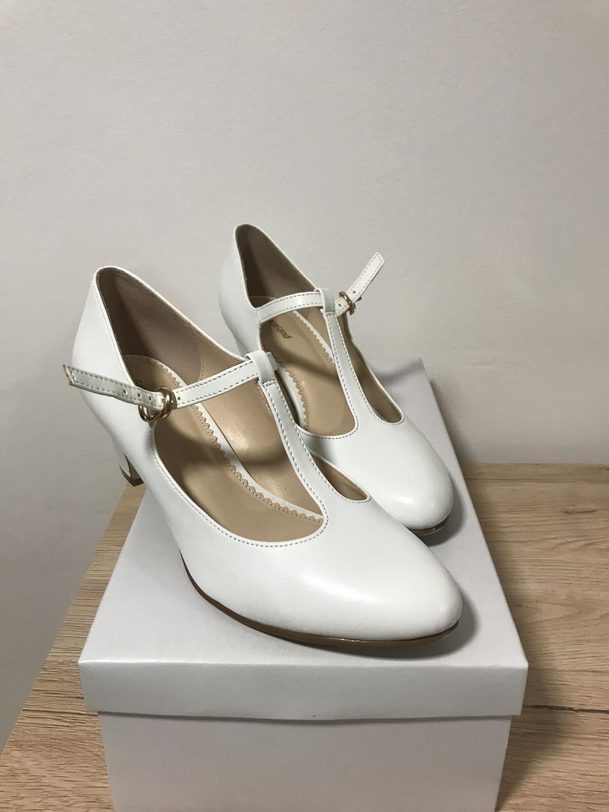 prodám svatební boty - Obrázek č. 1