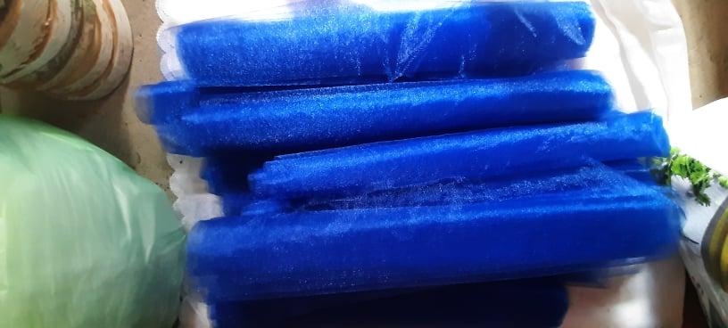 Královsky modrá organza - Obrázek č. 1