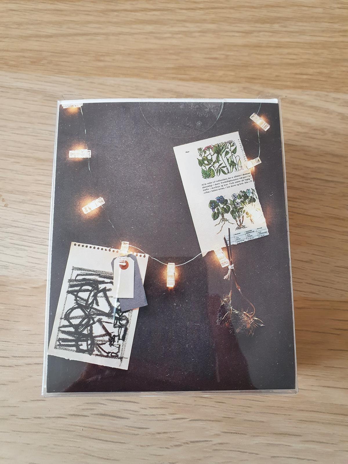 Světelný řetěz ve tvaru kolíčků - na fotky - Obrázek č. 2