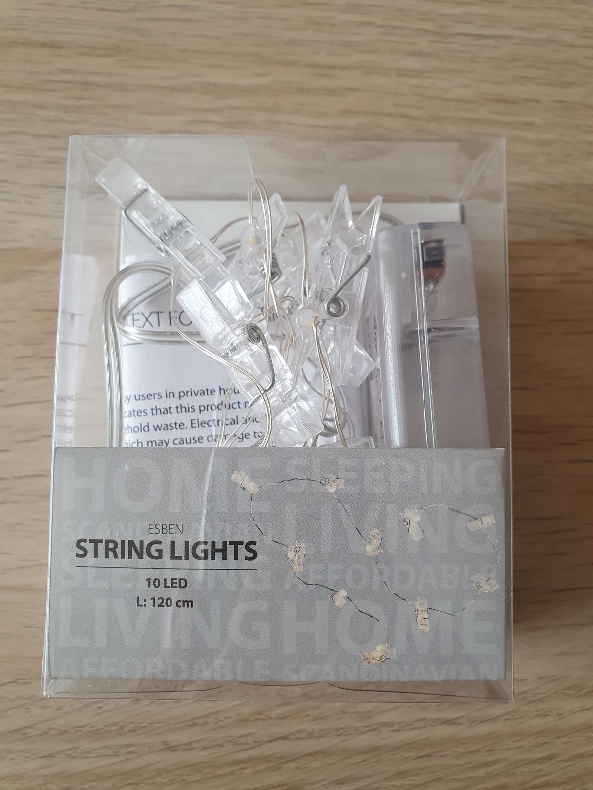 Světelný řetěz ve tvaru kolíčků - na fotky - Obrázek č. 3