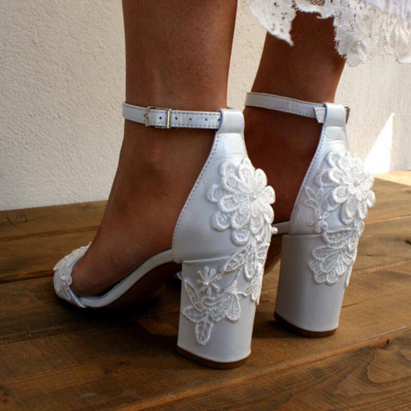 Nové svatební boty vel. 40 - Obrázek č. 3