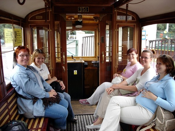 Zraz 12.8.06 Praha 1-medzinarodny - Cesta historickou elektickou(nie tramvaji)
