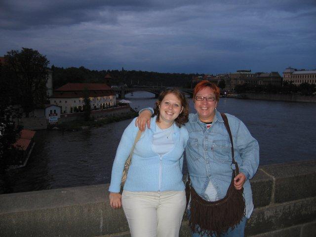 Zraz 12.8.06 Praha 1-medzinarodny - A & A na Karlovom moste