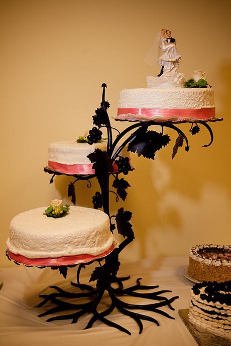 3 poschodovy Stojan na tortu - Obrázok č. 1