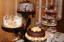 3 poschodovy Stojan na tortu - Obrázok č. 4