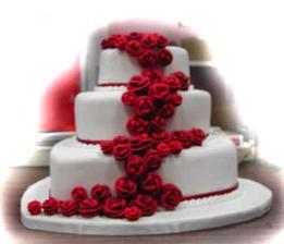 rosa torta