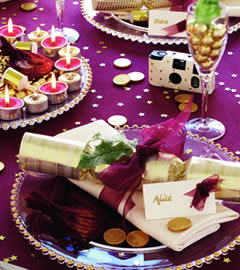 Moja fialova svadba - aj táto je zaujímavá fialovo-zlatá