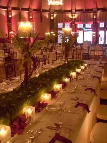 Moja fialova svadba - Tato výzdoba ma očarila a tak som sa rozhodla pre fialovu svadbu