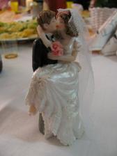 postavička na dortu
