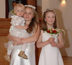 Elinka s Barčou a Kristýnkou - naše malé dobré víly ;o)