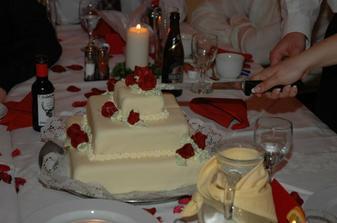 úžasný dort od Zuzanky, mňamky!!!