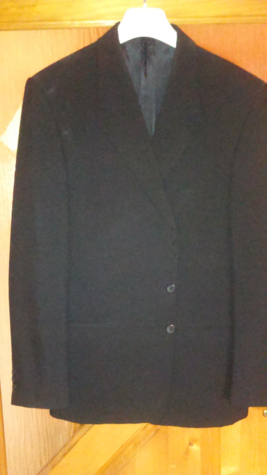 príležitostné pánske obleky veľkosti 50 a 54 - Obrázok č. 1