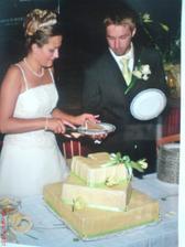 náš obří dortík - měl asi 15 kg :))