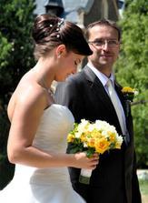 konečně u ženicha :)