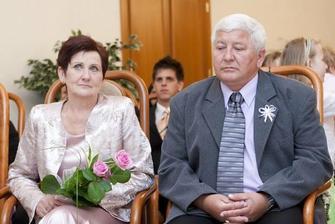 maminka a tatínek nevěsty