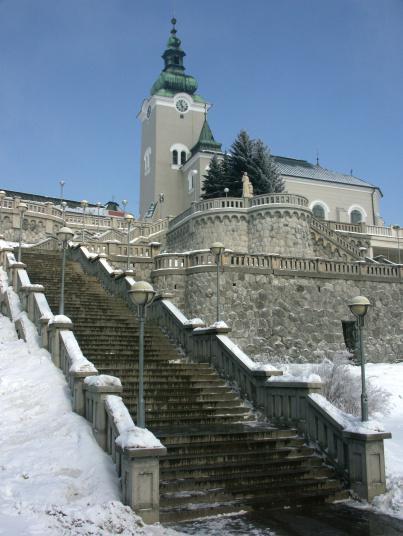 Co bolo, je,... a bude (na svadbe) - a tu sa chceme svadbiť - kostol sv. Ondreja v Ružomberku