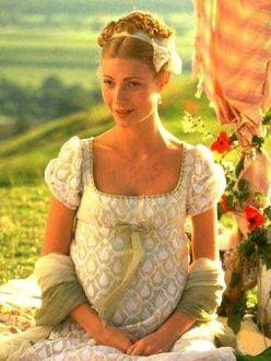 Šaty a účesy... - Mam veľkú slabosť na éru Jane Austen.