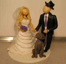 Naše figurka na dortík - děkuju moc Bibi!!!