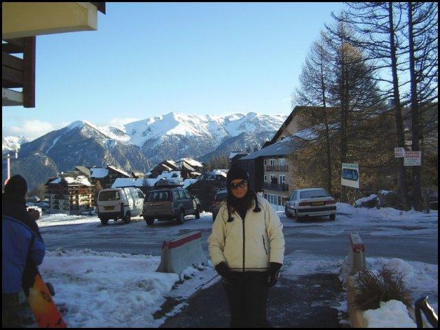 MARTINA+ANDY  6.7.2007 - Vianočná tohtoročná lyžovačka vo francii-Risoul