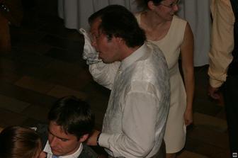 Tanečné kreácie ho trochu vyčerpali...