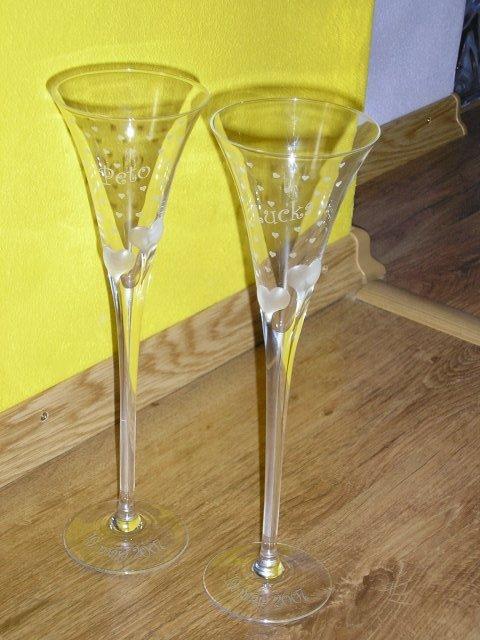 Petko a Lucka 19.5.2OO7 - naše úžastné poháre