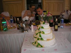 Naša krásne torta od Maminky Janky a Ocina Doda