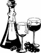 obrázok fľaše so svadobným vínom