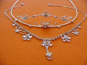 Moje korunka a náhrdelník