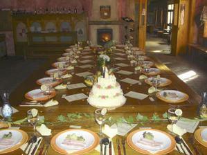 Restaurace U Kata- místo svatební hostiny