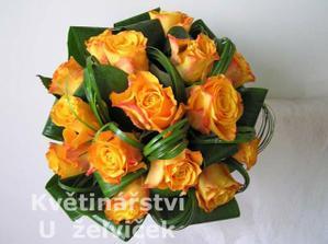 Nějaká kytička pro nevěstu :)