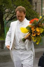 Ženich si přijel pro nevěstu
