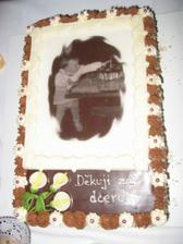 Děkovací dort pro rodiče
