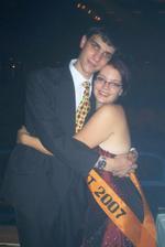 maturitní ples :o) ja a brouček