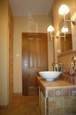 Reálné dílo koupelny, majitelův vzkuz moc krásné, něco v tom stylu bych velice ráda!