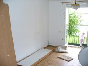 obývačka sa zmení na detskú izbu