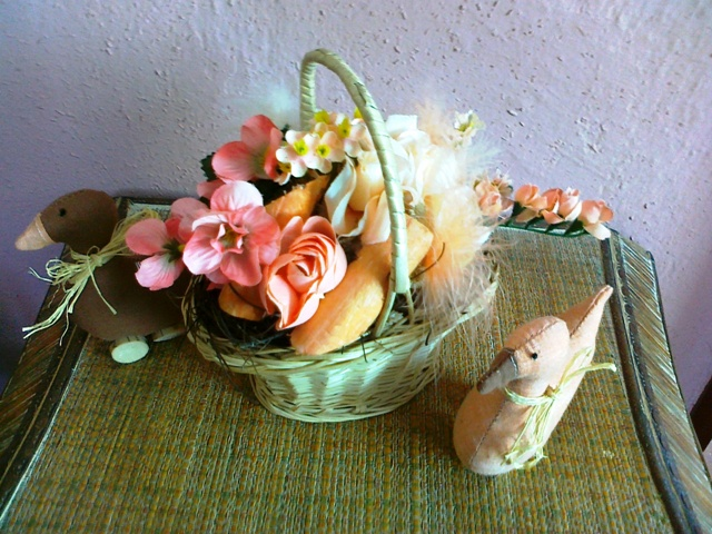 Jarne a Velkonocne dekoracie - troska som sa bavila :-)))