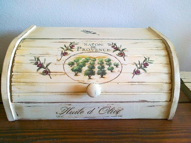 Moje hobby-bytove doplnky - olivovy chlebnik:-)