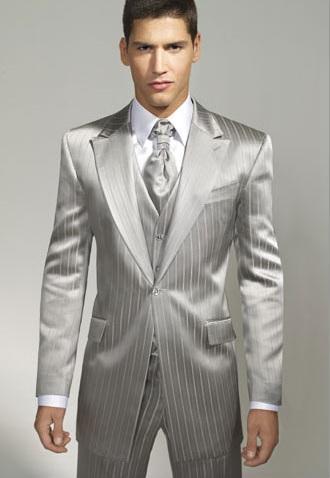 129cd233859f Pánske obleky - Šedý oblek španielskej značky Javier Arnaiz ...