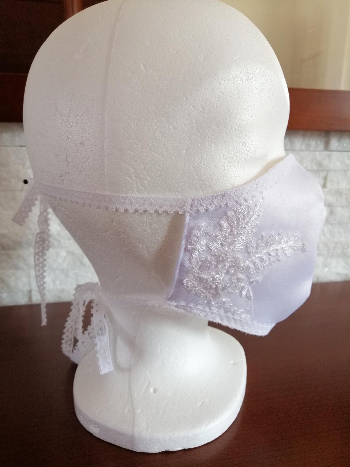 Šijeme svadobné rúška - Obrázok č. 3
