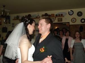 První taneček :-)