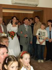 nevěsta s tatínkem.........