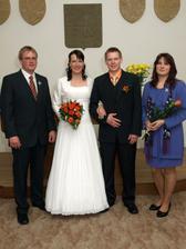 manželé se svědkama :-)