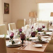 U takového stolu bych chtěla večeřet:)