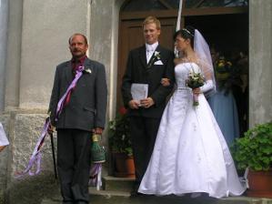 vonku už ako manželia