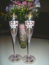 naše poháre s kyticou